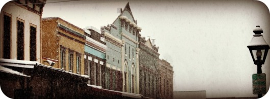 Mill St. Snow Header