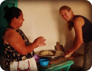 Becky in Honduras